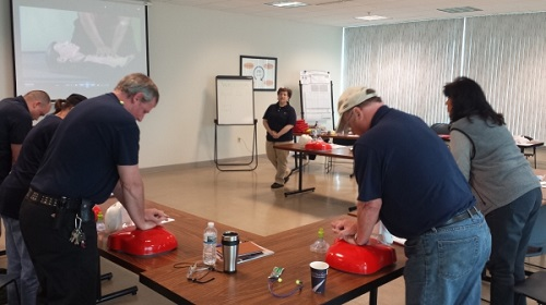 CPR Training Class in Milwaukee