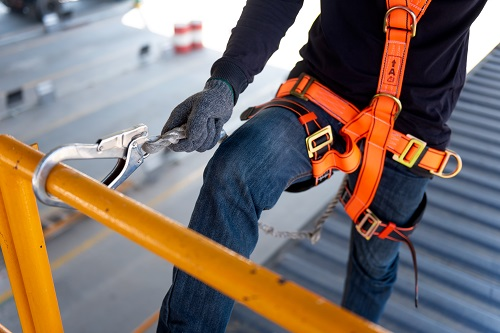 Fall Protection Harness for Safety Training